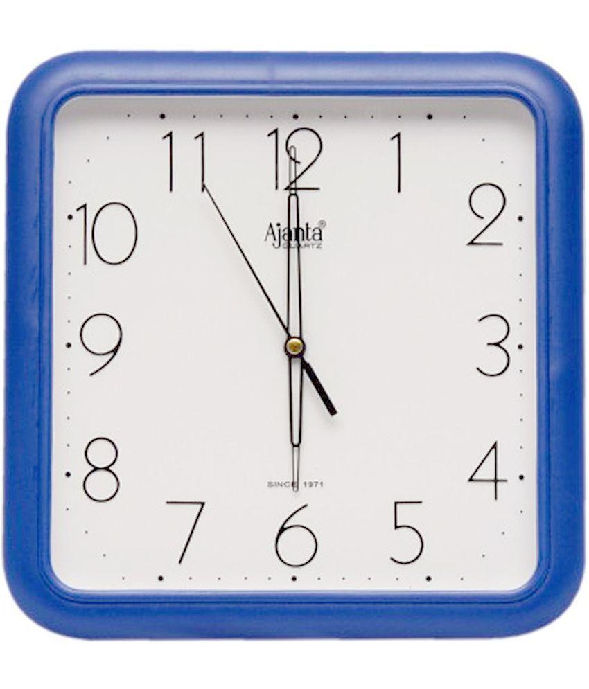 Ajanta blue wall clock buy ajanta blue wall clock at best price ajanta blue wall clock amipublicfo Images