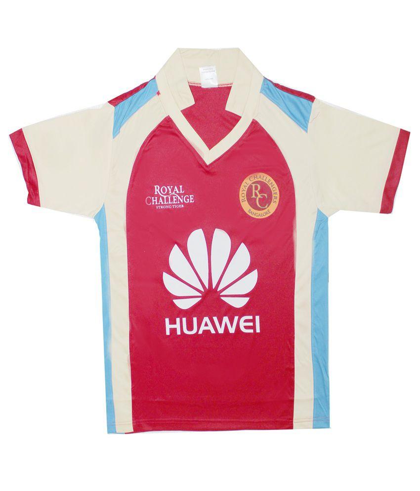 IPL Bangalore Royal Challengers Jersey