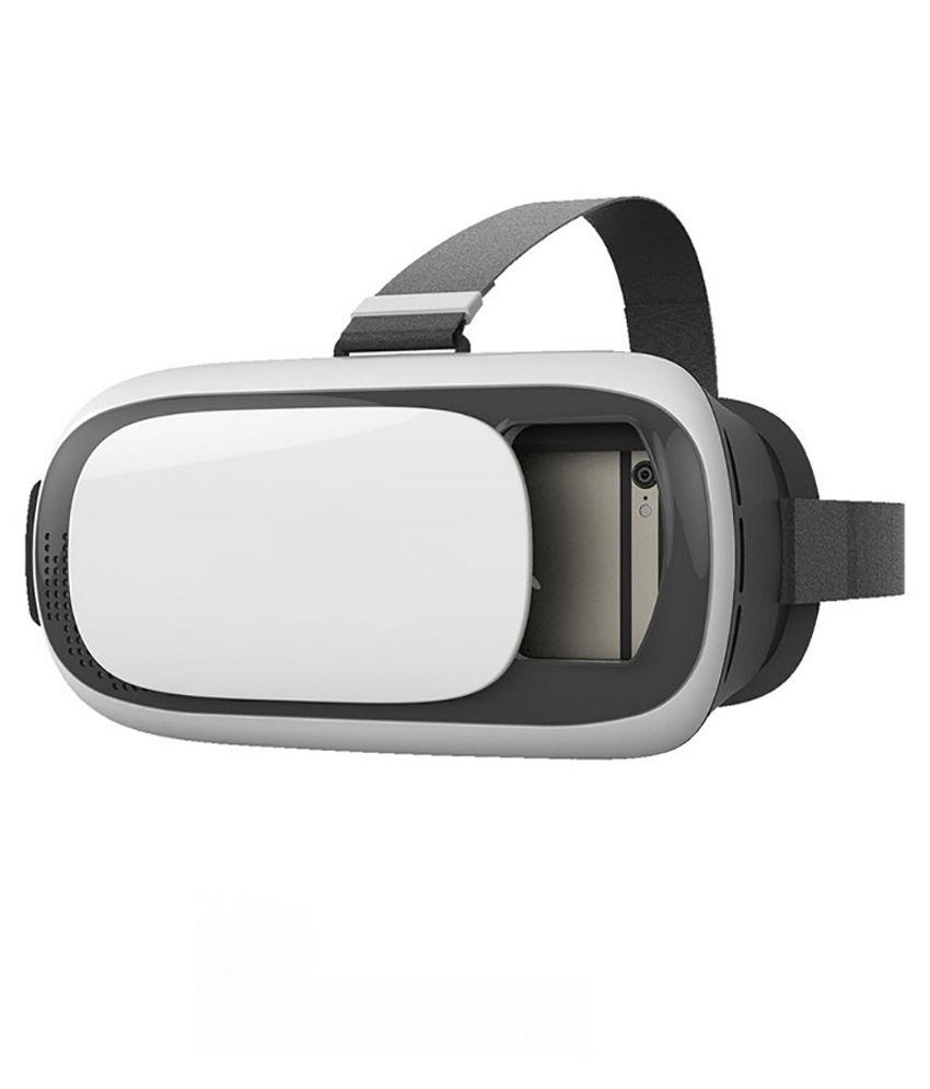 MDI VR Box Google Cardboard Inspired Virtual Reality 3D Glasses - Black &  White