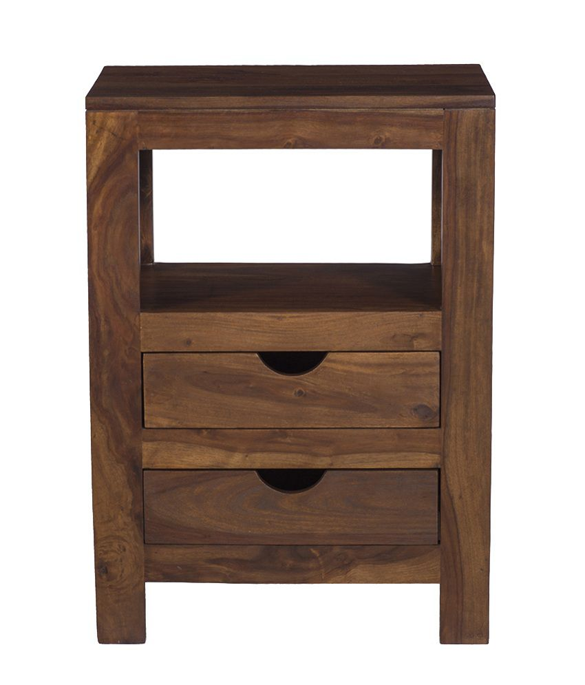 Ramayan Exim Thor Solid Wood Bedside Table