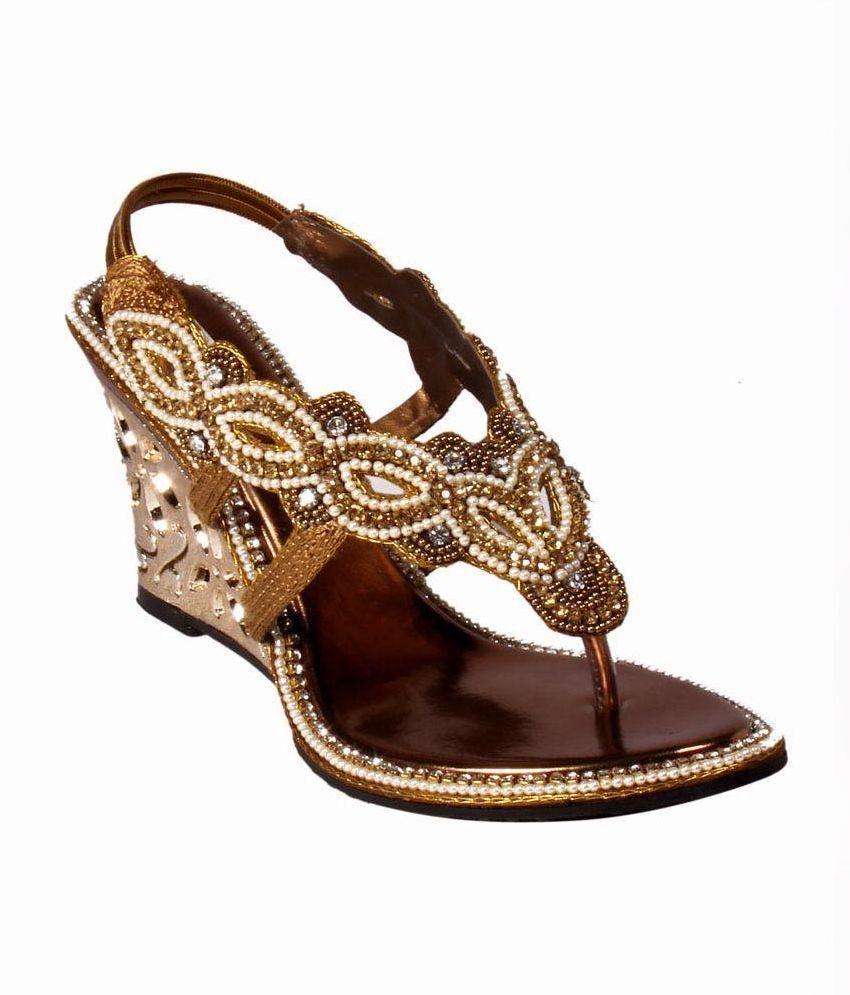 Sanlee Gold Heels
