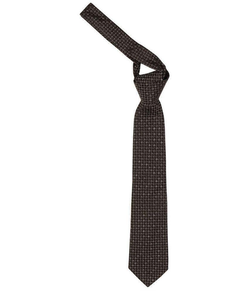 SCHARF Black Micro Fiber Tie