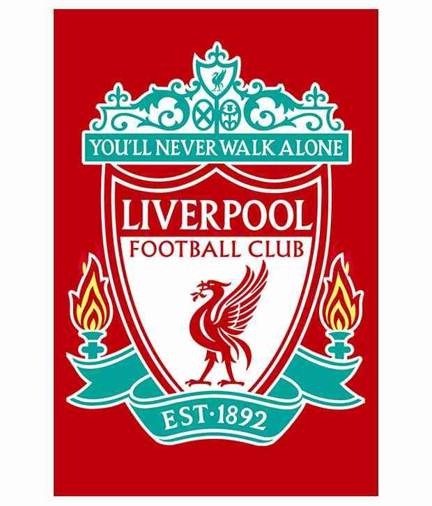 AB Posters Matte Liverpool Logo Poster: Buy AB Posters