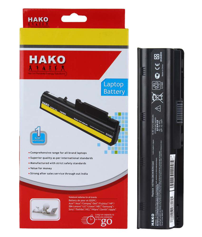 Hako Hp Compaq Pavilion G6-1168sv 6 Cell Laptop Battery