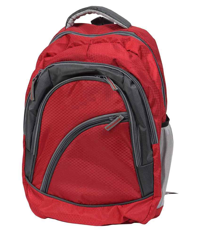 FIPPLE Red Canvas Laptop Bag For Acer Laptops