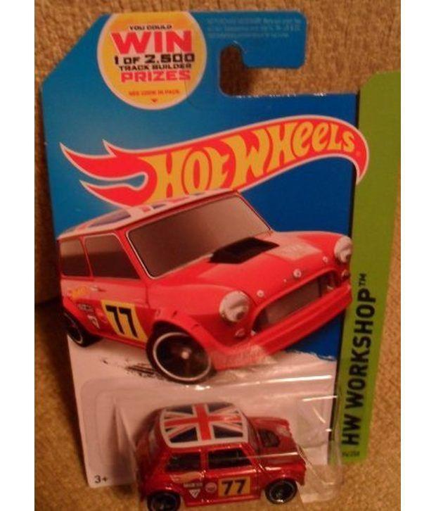 Hot Wheels Morris Mini Mini Cooper With British Flag Hw Workshop