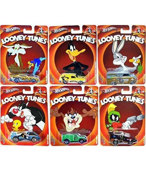 7da6c4fce Looney Tunes Hot Wheels 6 Car Set Pop Culture Bugs Bunny Daffy Duck+ Cars -  Buy Looney Tunes Hot Wheels 6 Car Set Pop Culture Bugs Bunny Daffy Duck+  Cars ...
