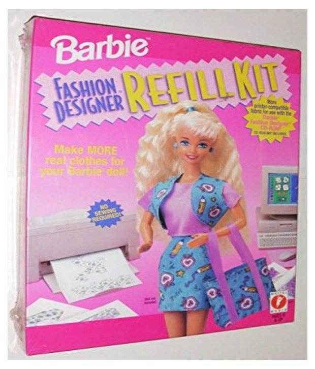 Mattel Barbie Fashion Designer Refill Kit Box Buy Mattel Barbie Fashion Designer Refill Kit Box Online At Low Price Snapdeal