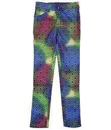 Bud N Blossoms Multicolour Cotton Blend Jeans