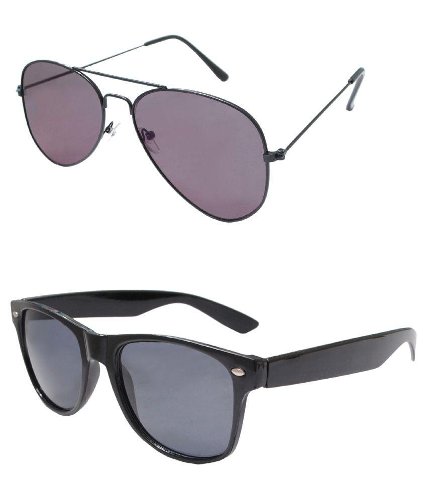Carrolite Multicolor Aviator Sunglasses