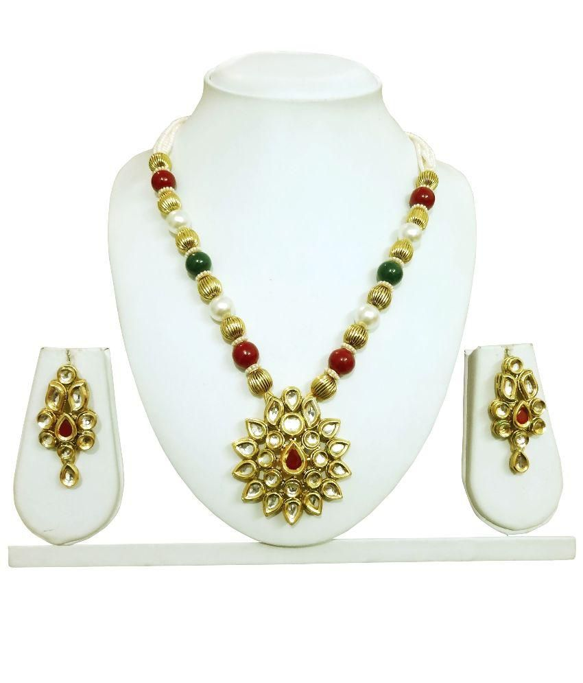 Arts Chetan Multicolor Necklace Set
