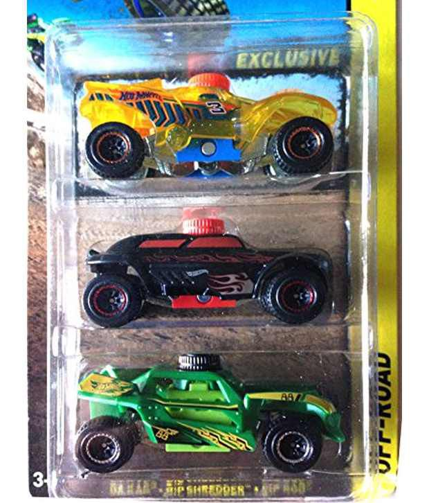 EXCLUSIVE Extreme Shoxx Trucks Off Road Hot Wheels Track 3