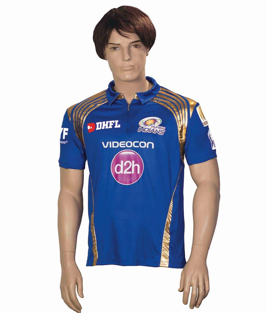 IPL T20 Mumbai Indians Match Jersey Mens