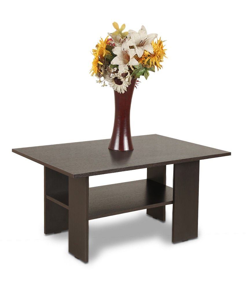 Crystal Furnitech Mazo Coffee Center Table In Wenge