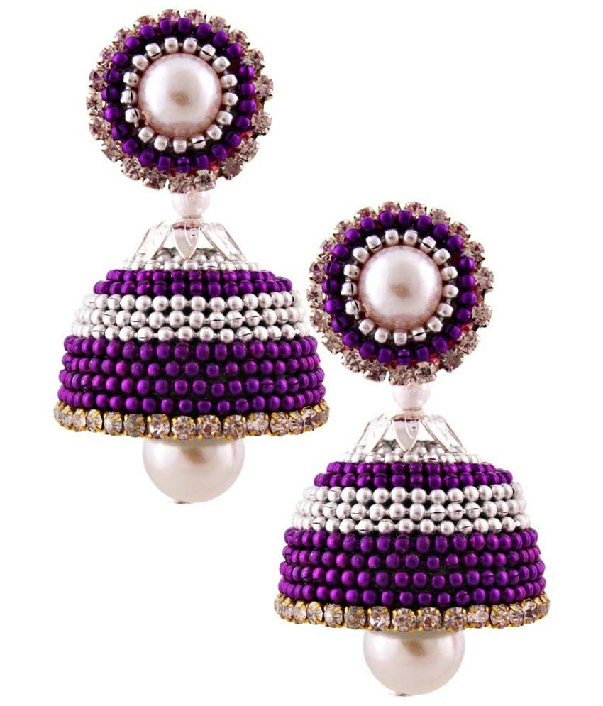 Halowishes Multi Enamel Jhumkis