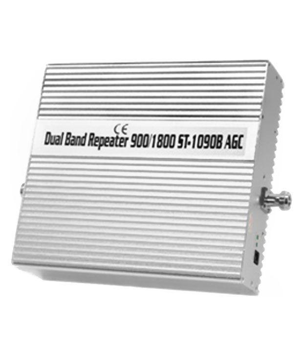 Lintratek St1090B 2G + 4G Mobile Signal Booster 1600 RJ11 White