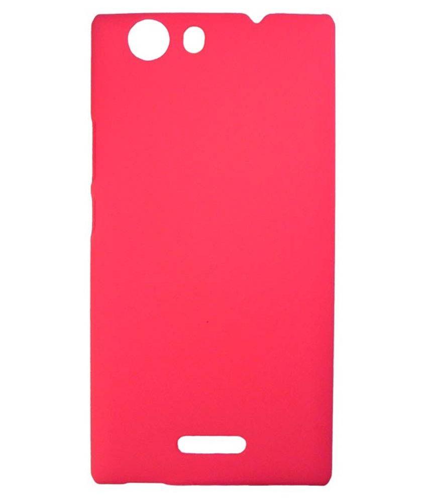 quality design dbafd a3bc6 Lomoza Back Cover for Micromax Canvas Nitro 2 E311 - Pink