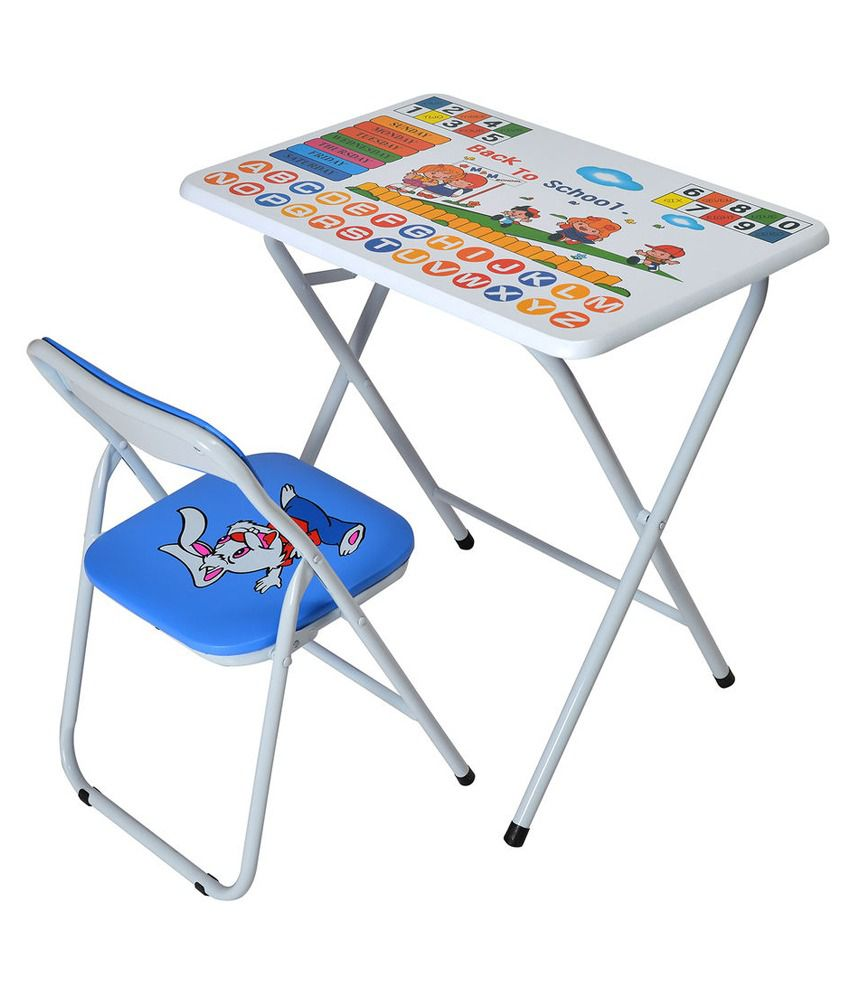 Folding study table and chair -  Nilkamal Disney Kids Study Table With Chair