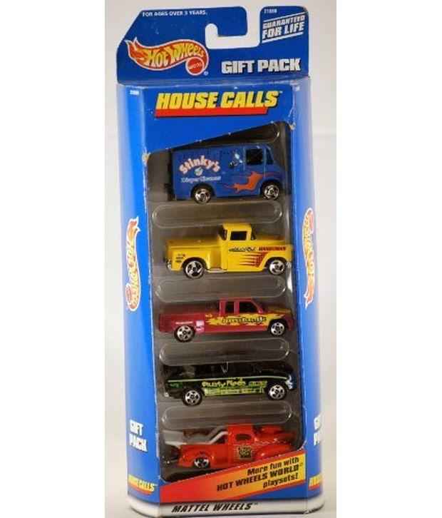 1998 - Mattel - Hot Wheels - House Calls - Gift Pack - Set