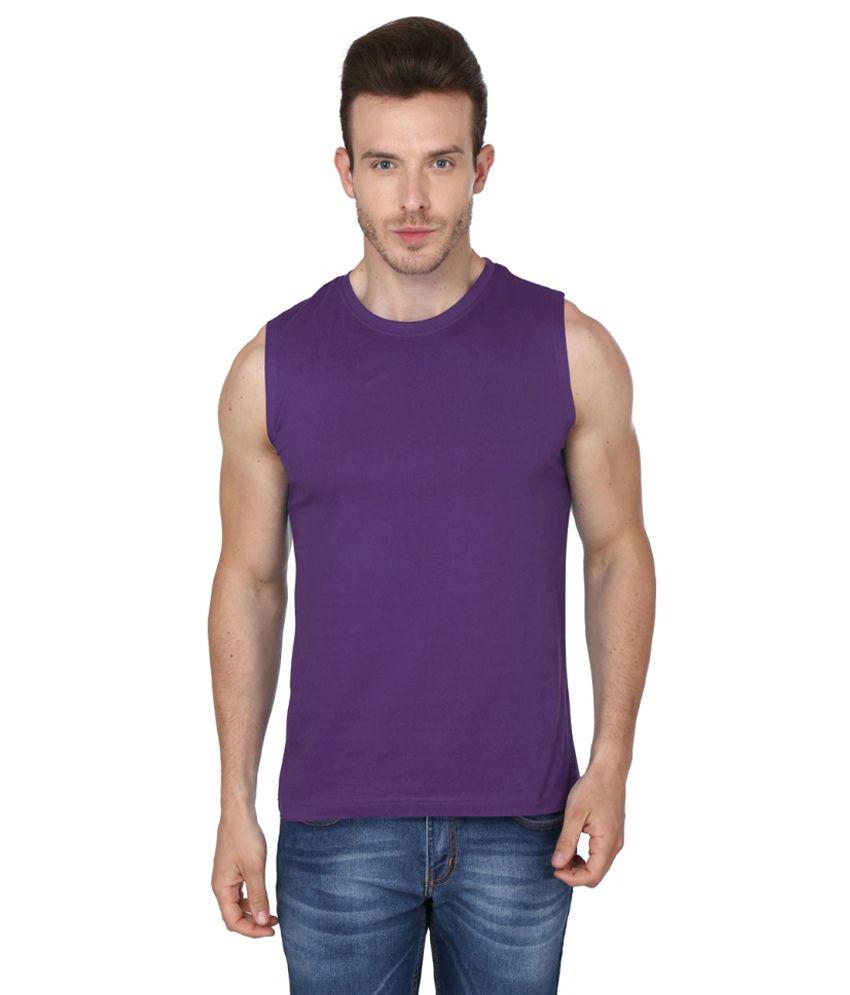 99tshirts Purple Round T Shirt