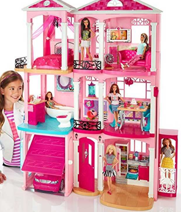 barbie dreamhouse buy barbie dreamhouse online at low price snapdeal rh snapdeal com
