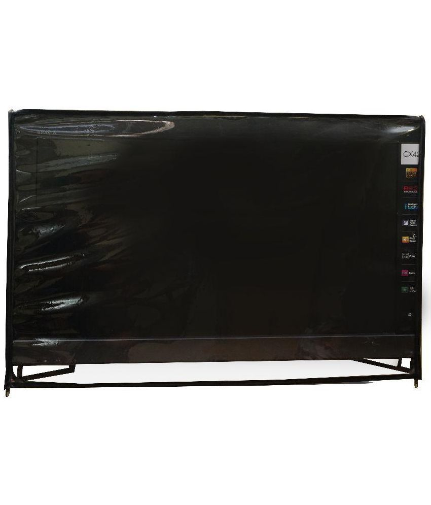 Aditya Transparent LCD TV and Remote Cover