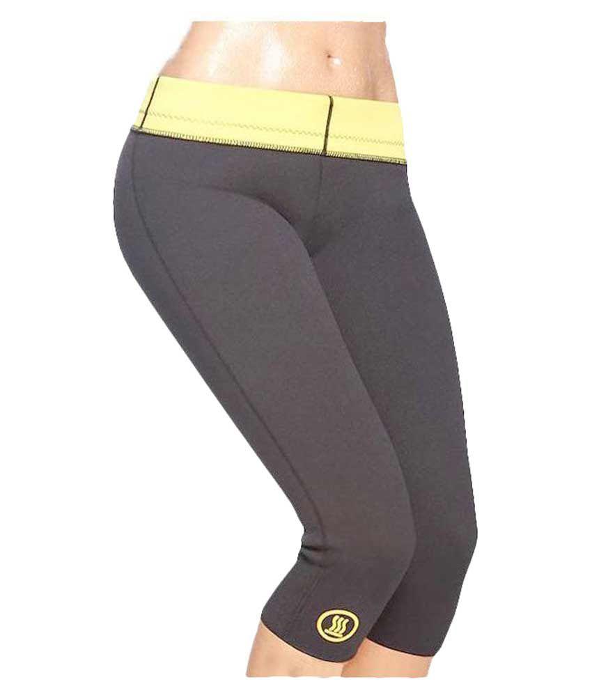 Benison India Black Hot Shaper Slimming Shorts