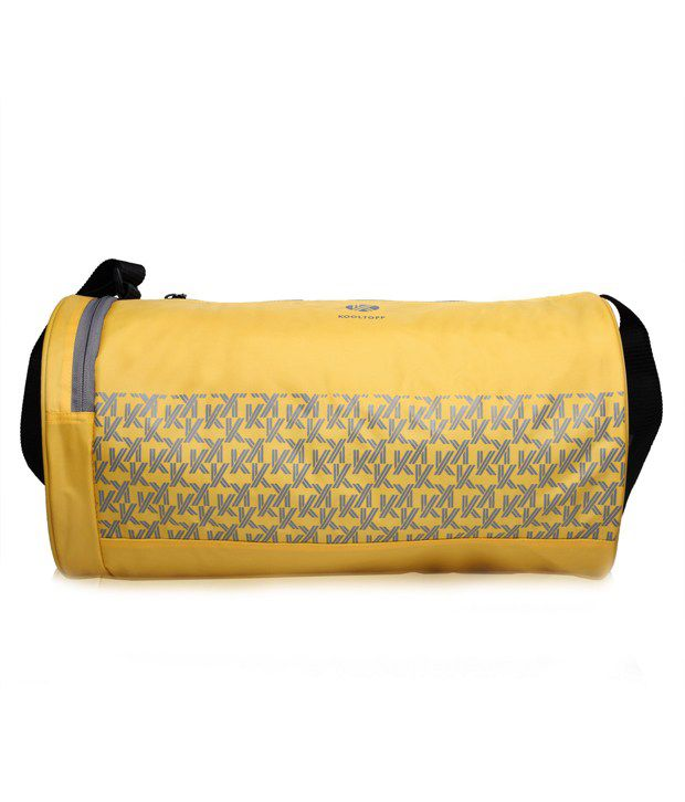 Kooltopp Yellow Gym Bag
