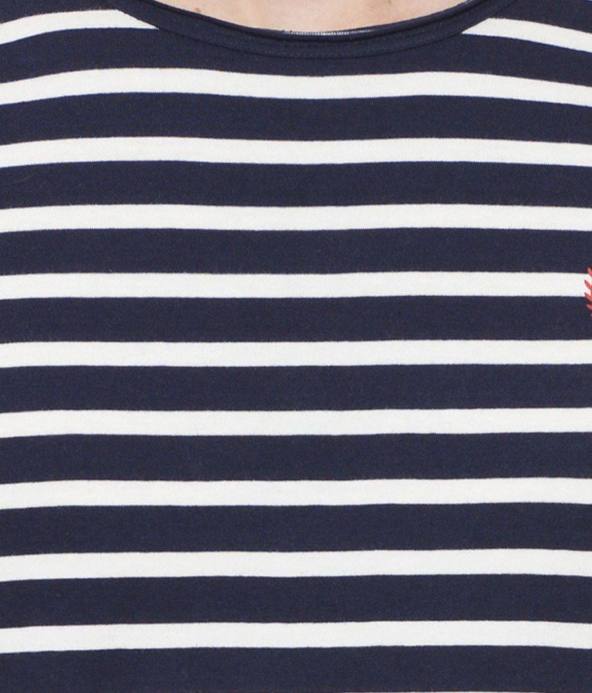 b75442959 Rigo Navy Round T-Shirt - Buy Rigo Navy Round T-Shirt Online at Low ...