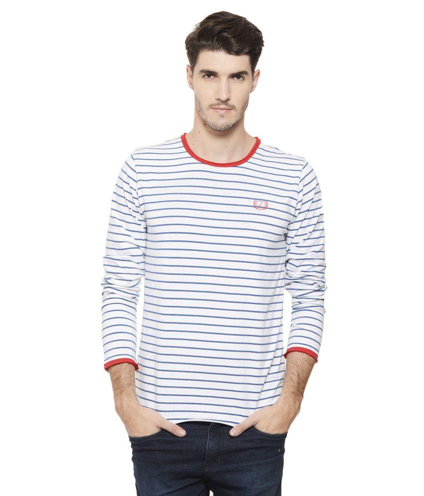 Rigo White Round T Shirt