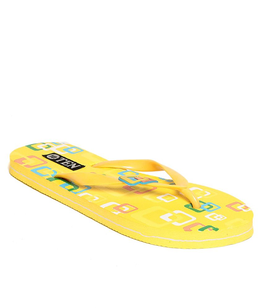 TEN Yellow Flip Flops