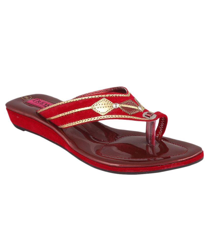 Trewfin Red Heels