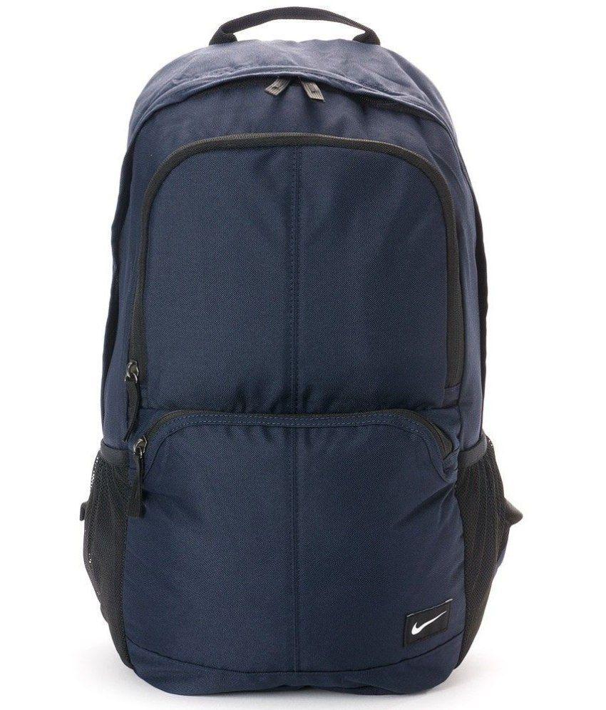 7b4aad3184c2 Nike Navy Polyester Backpack - Buy Nike Navy Polyester Backpack Online at Low  Price - Snapdeal