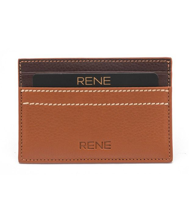 7b3841732 Rene Tan Leather Card Holder available at SnapDeal for Rs.413