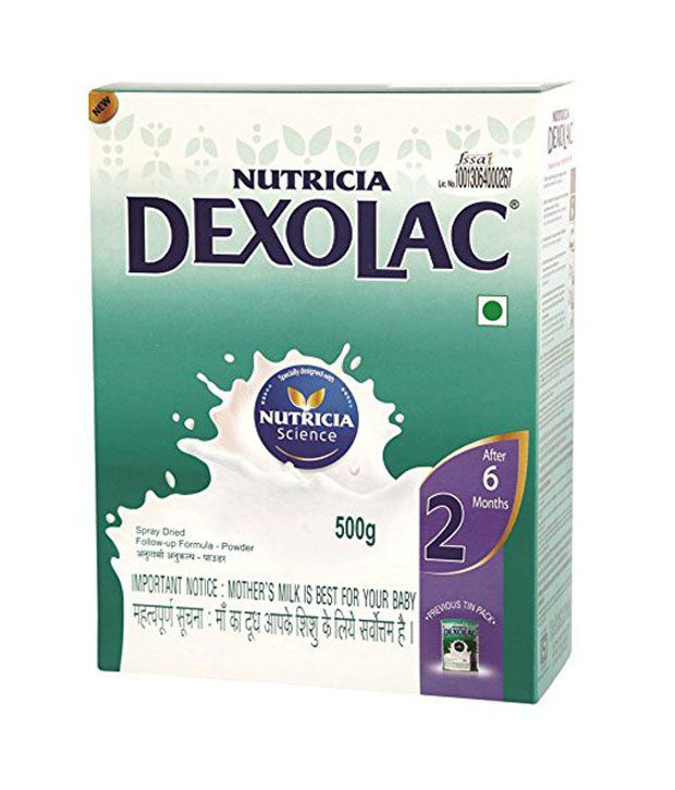 dexolac 2 follow up formula after 6 months 500 gm