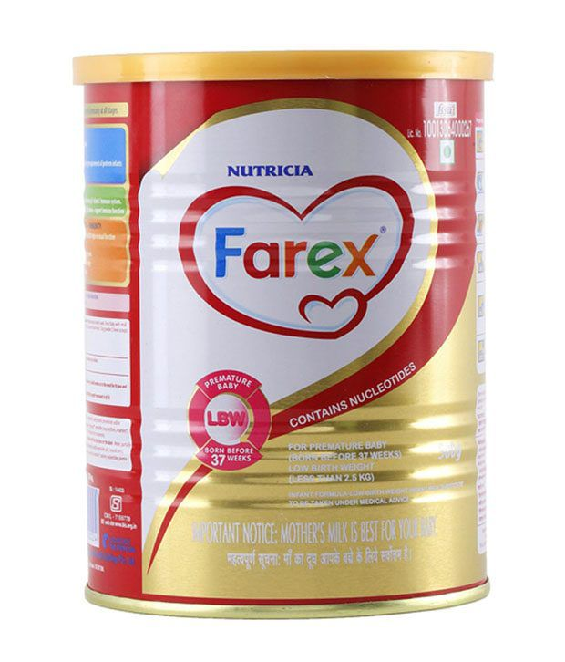 FAREX - Low Birth Weight Infant Formula 500g Tin