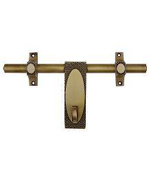 Plus Point Golden Brass Door Aldrop - Pack Of 2