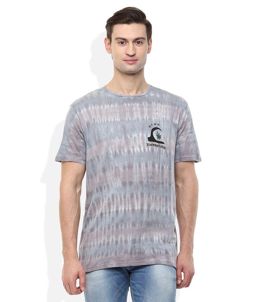 Quiksilver Grey T-Shirt