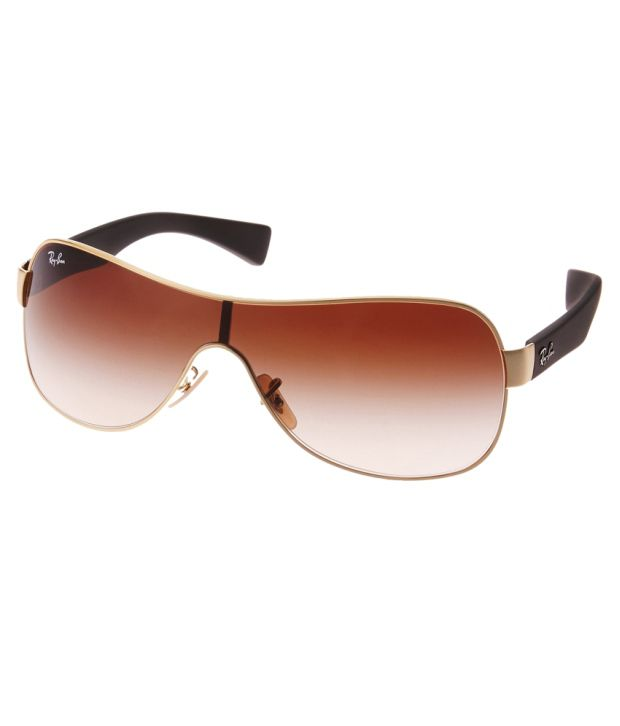 16387c0ceb1 Ray-Ban Brown Wrap Around Sunglasses (RB3471 001 13) - Buy Ray-Ban Brown  Wrap Around Sunglasses (RB3471 001 13) Online at Low Price - Snapdeal
