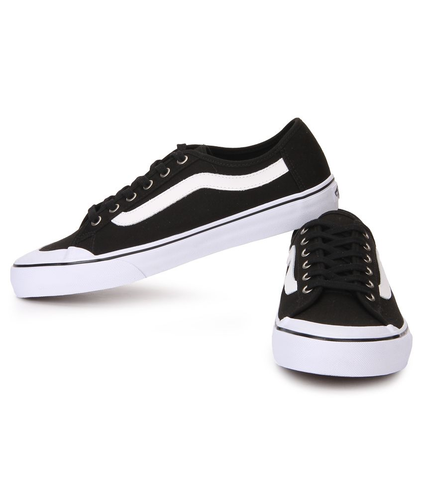 bb68001d8a Vans Black Ball Sf Black Canvas Casual Shoes - Buy Vans Black Ball ...