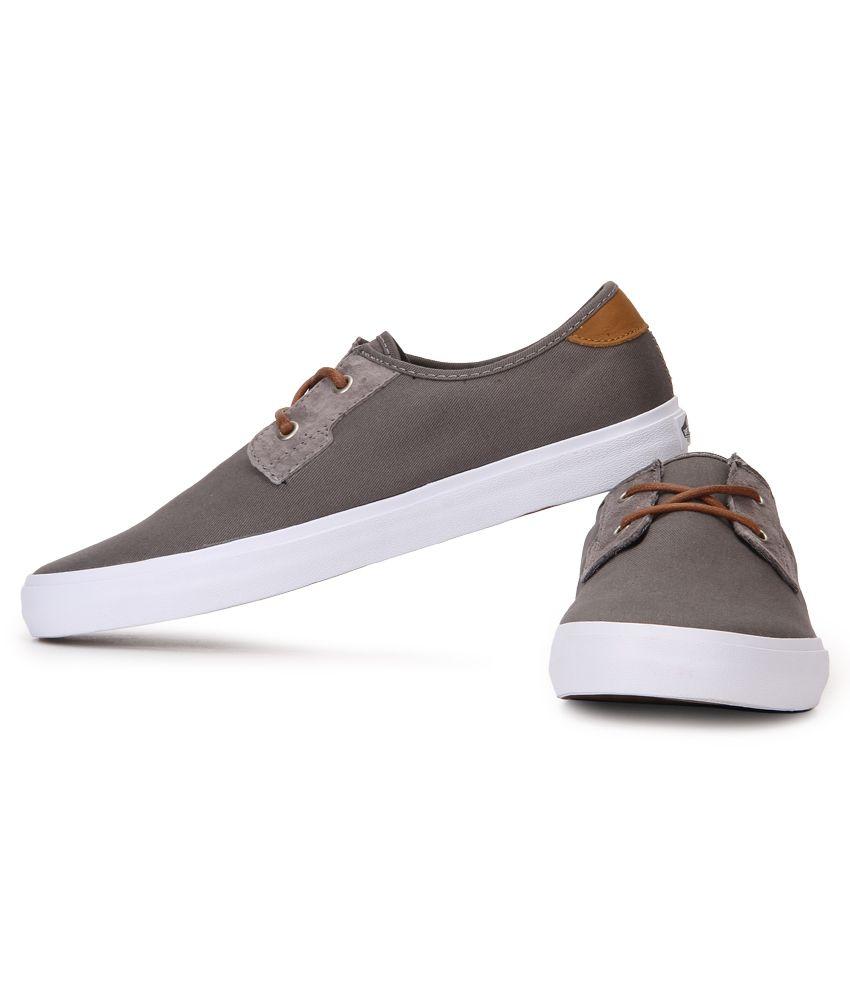 cd4bd9f435 Vans Michoacan Sf Gray Canvas Casual Shoes - Buy Vans Michoacan Sf ...