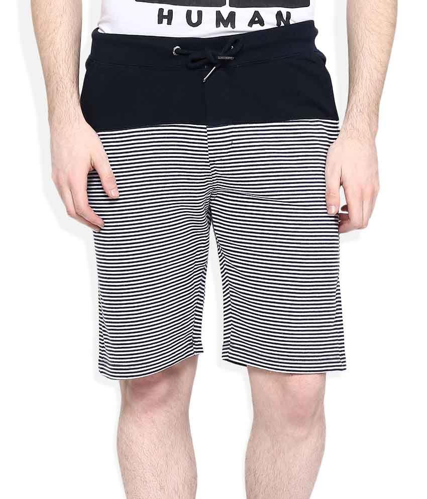 Being Human Grey Shorts