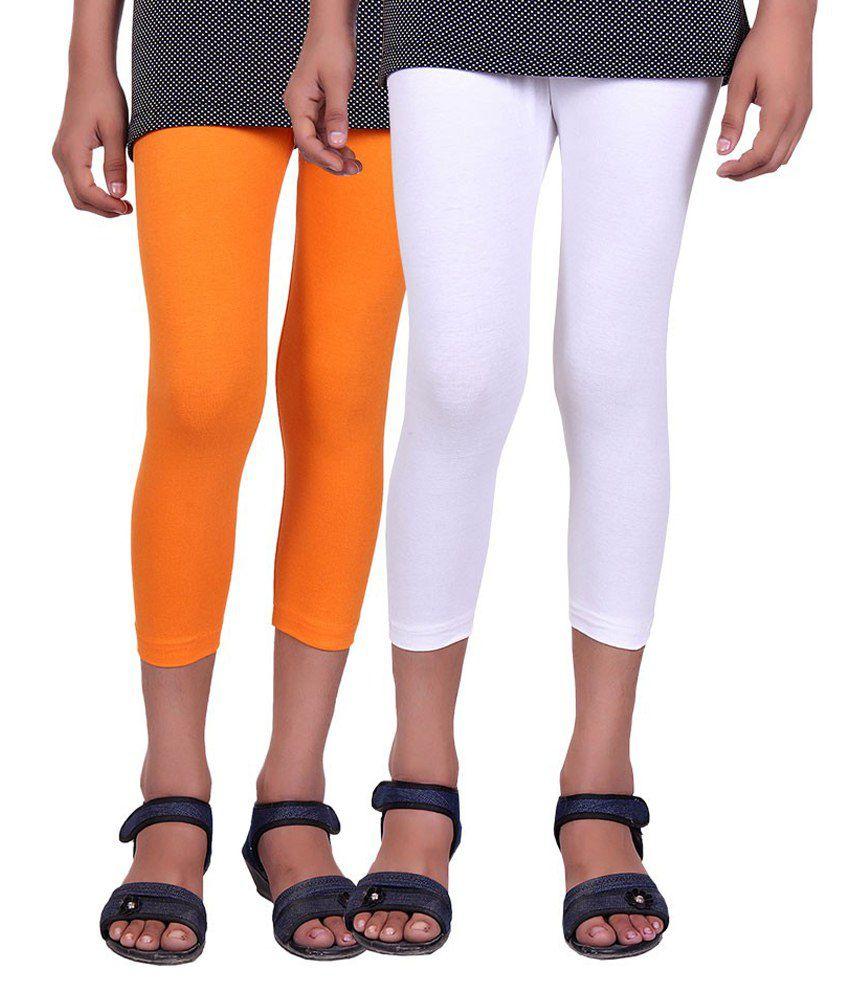 Alisha Multicolour Cotton Capri - Set of 2