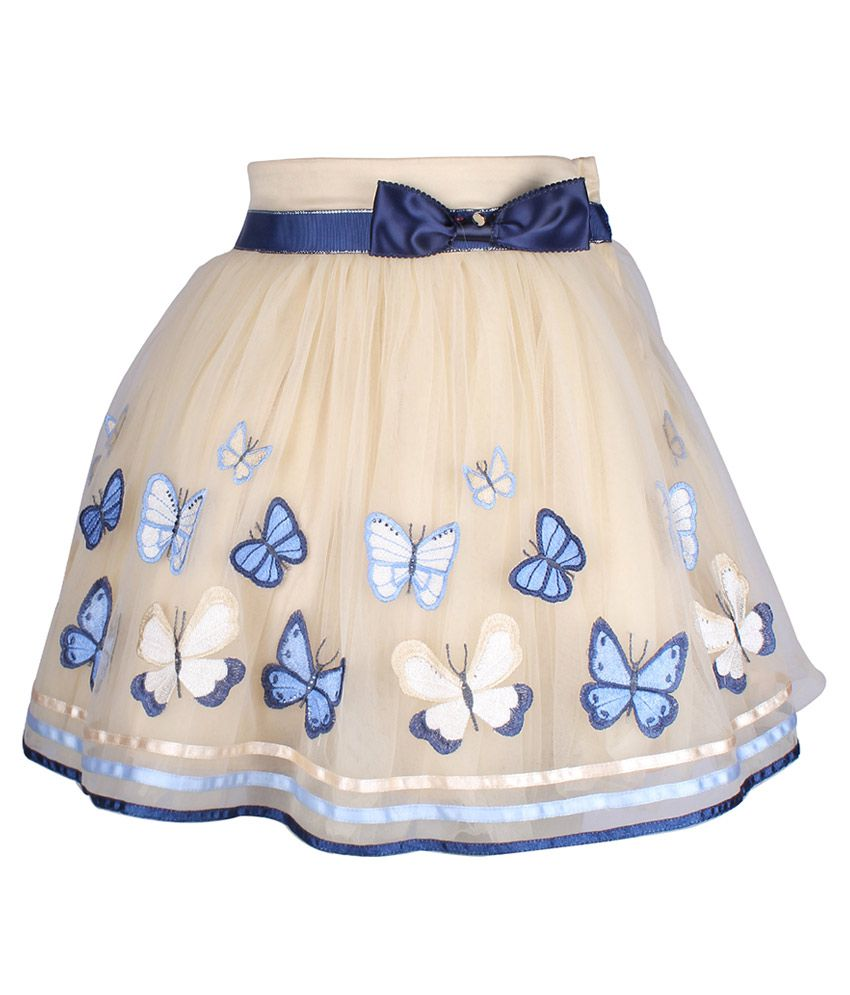 Cutecumber Beige Net Skirt