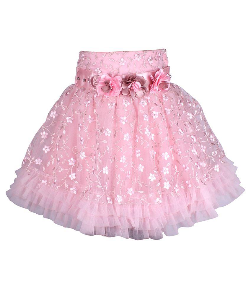 Cutecumber Pink Net Skirt