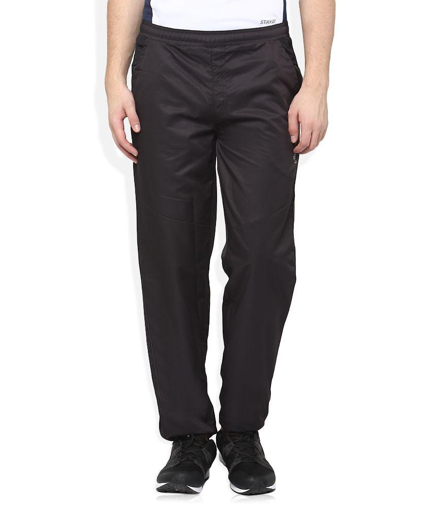 Lawman Pg3 Black Trackpants