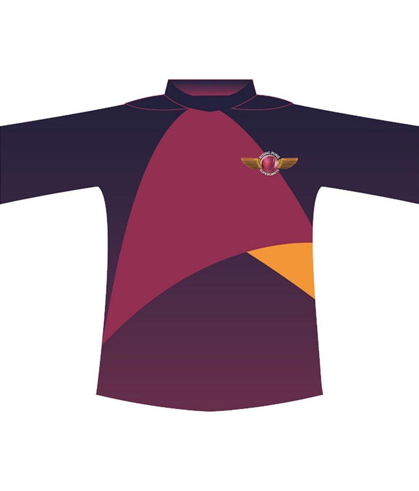 IPL T20 Rising Pune Supergiants Premium Player Jersey (Dhoni)