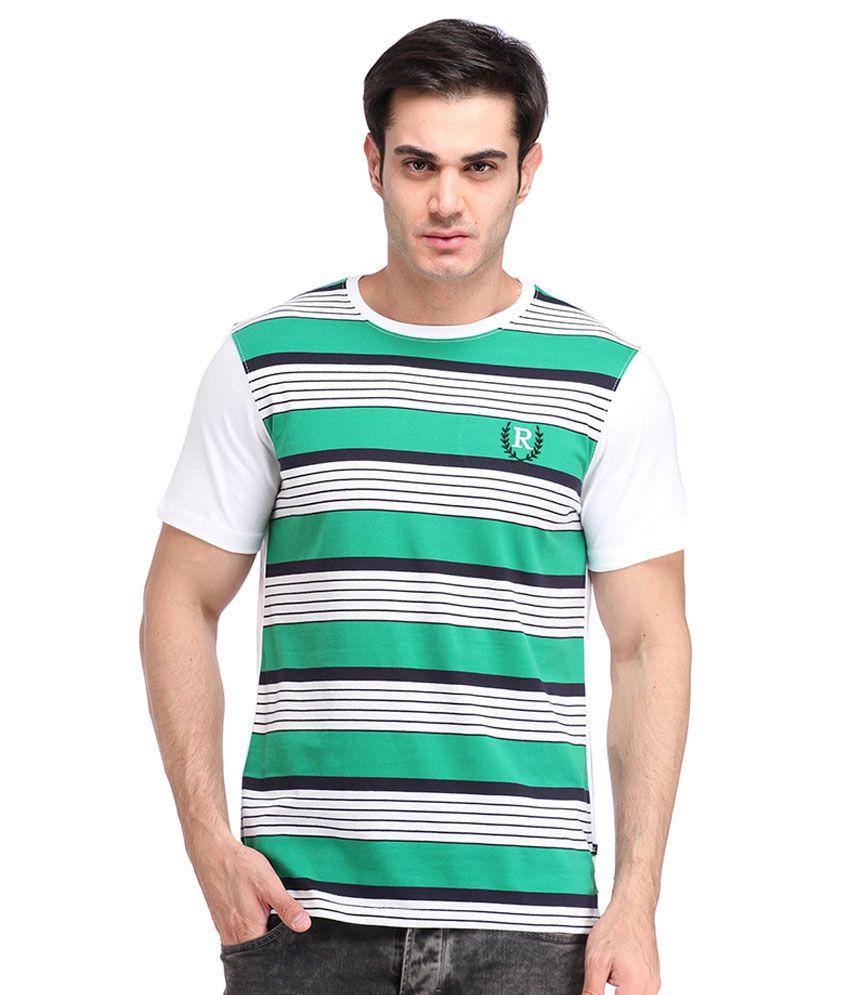 Rockhard Multi Round T Shirt