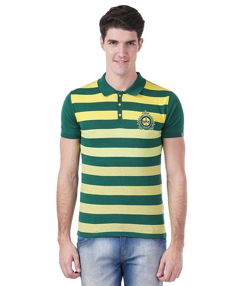 Tsavo Green Round T Shirt