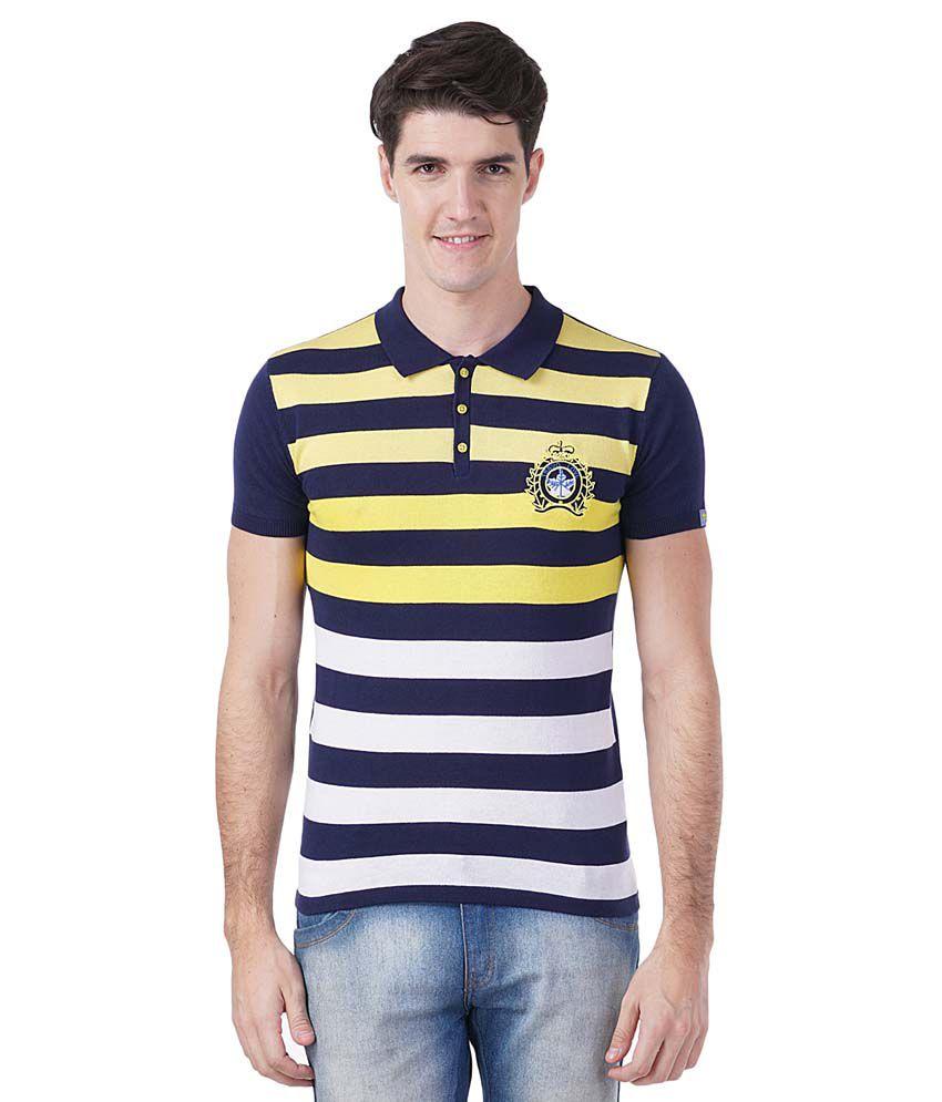 Tsavo Navy Round T Shirt